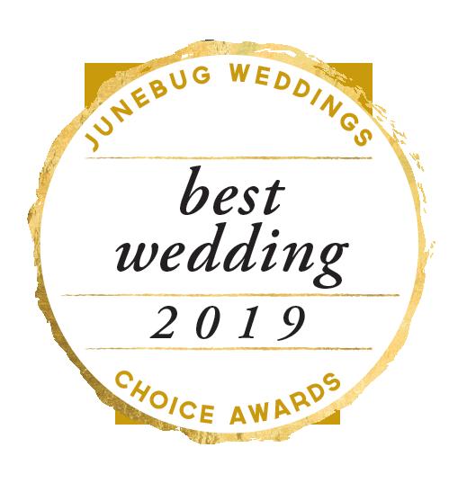 Junebug Weddings Best Wedding 2019